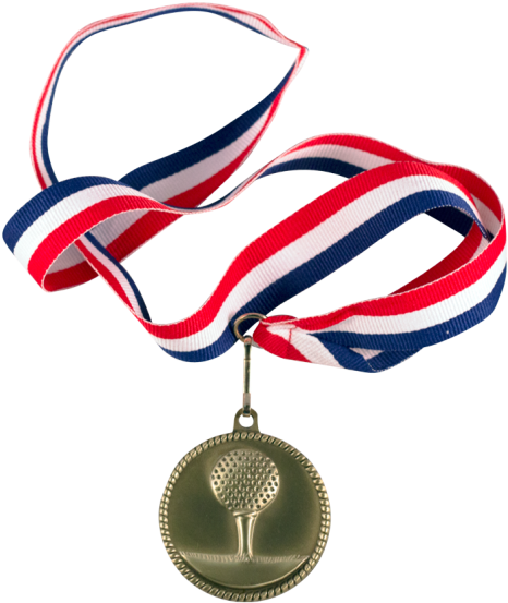 Edmond Trophy Red, White And Blue Medal Neck Ribbon - Medals