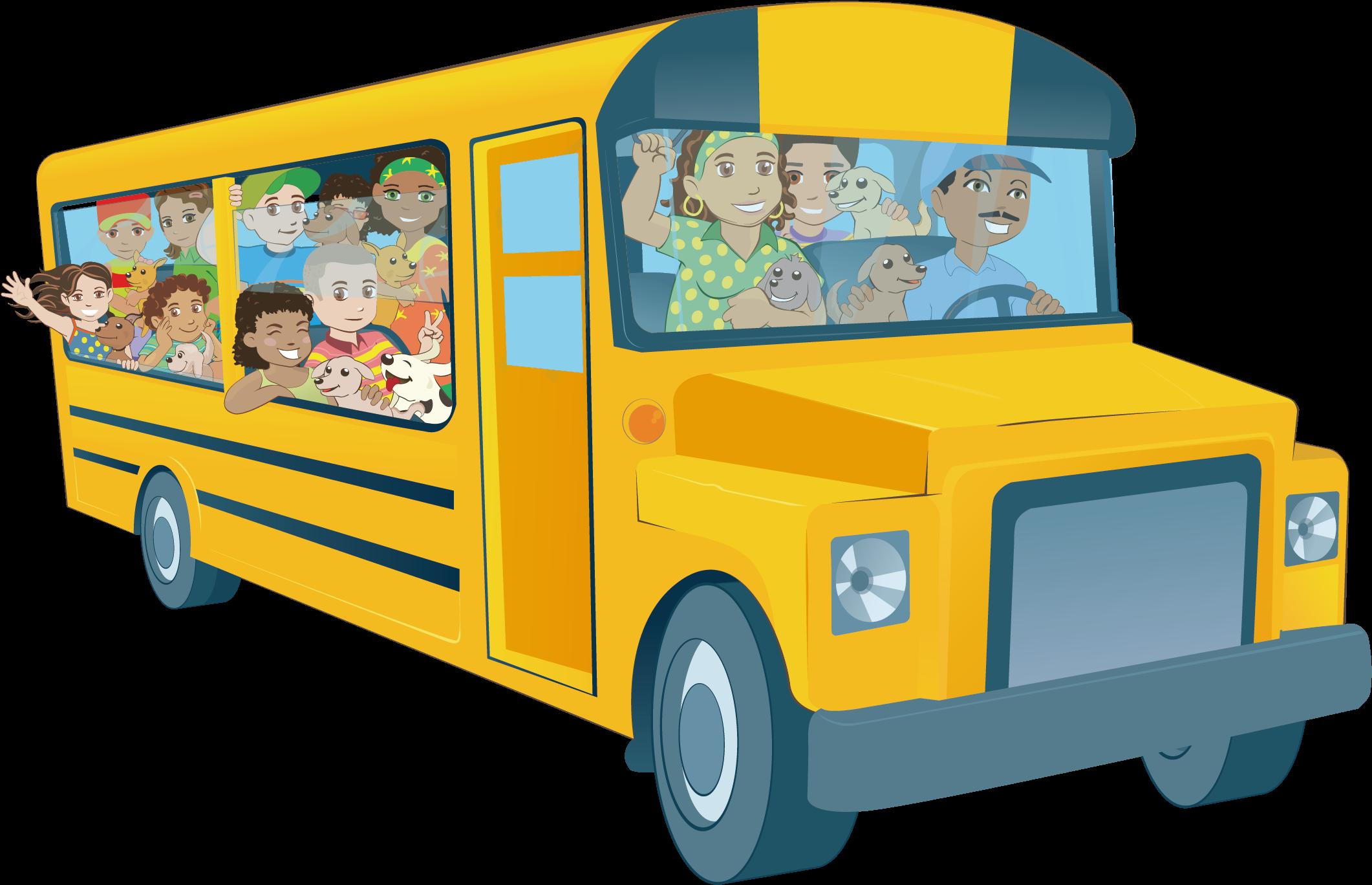 Картинка автобус для презентации