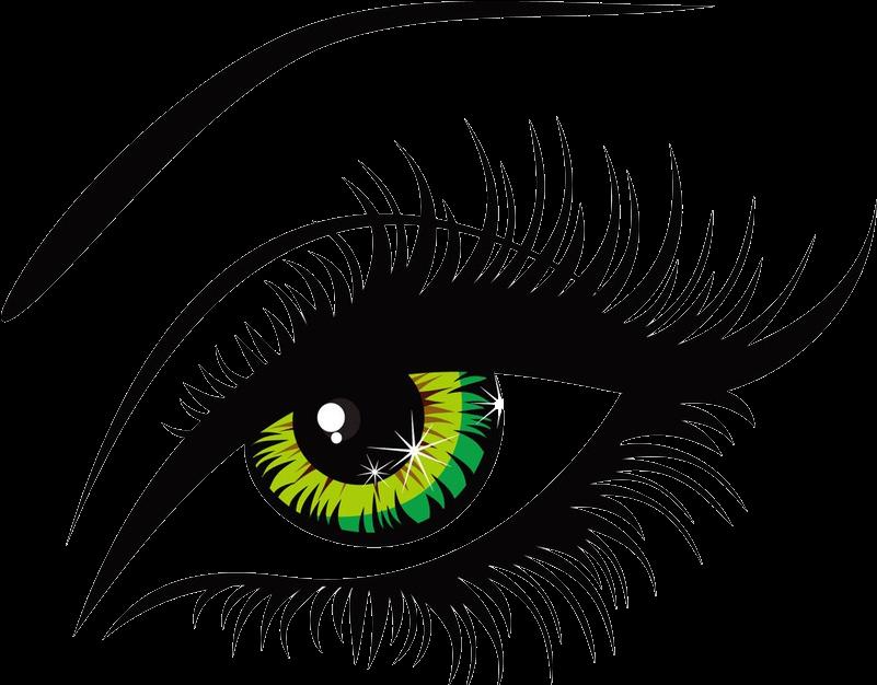 Eyes Clip Art Free Download - Eye Vector (800x663)