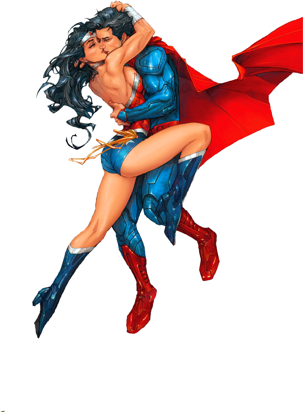 Картинка супермен с девушкой
