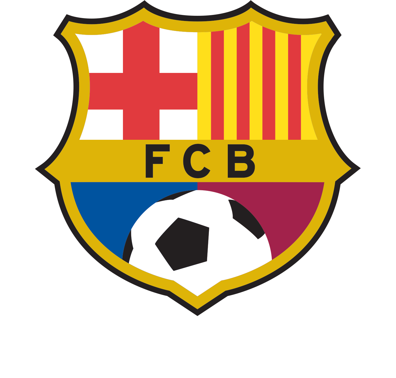 Fcbarcelona Is A Soccer Team That Was Founded In 1899 - Logo Barcelona Dream League Soccer 2018 (1382x1317)