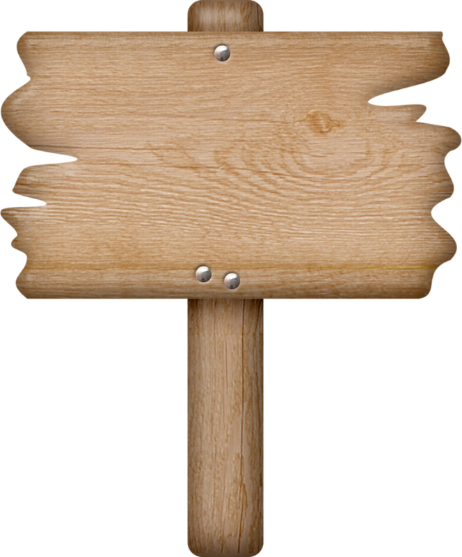 Wooden Sign * - Blank Wooden Sign Clipart (664x800)
