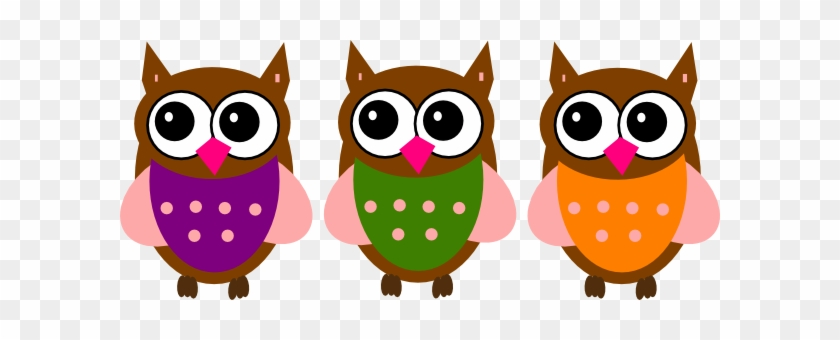 Owls Vector Clip Art #900