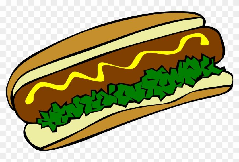 Fast Food Clipart - Hot Dog Clip Art #940