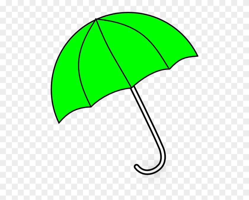 Apple Green Umbrella Clip Art At Clker - Clip Art Green Umbrella #941
