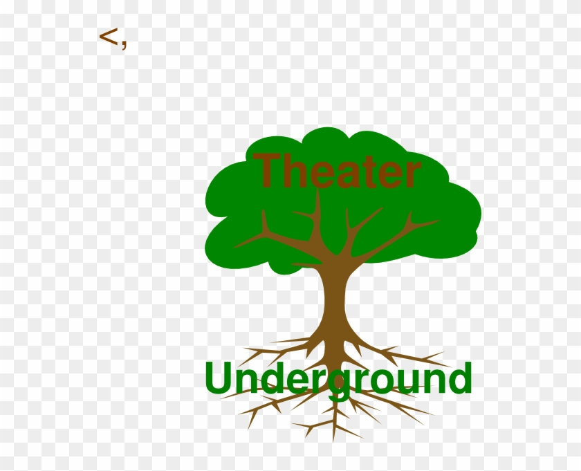 Tree Root New2 Clip Art - Labeled Tree #943