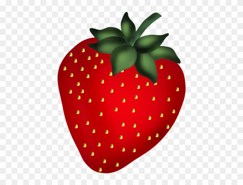Strawberry Clip Art - Dessin Fraise Png #959