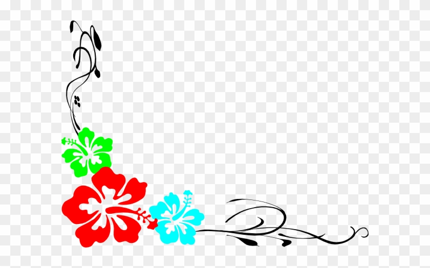 Luau Theme For Powerpoint Luau Clip Art Borders Free - Free Hawaiian Clip Art Borders #966