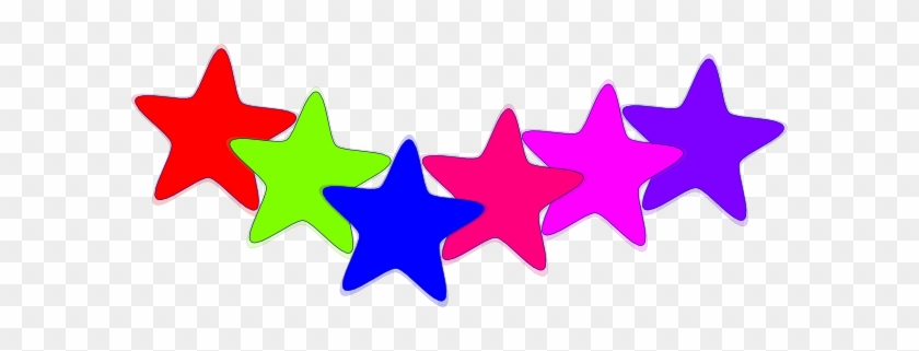 Download - Colorful Stars Clipart #975