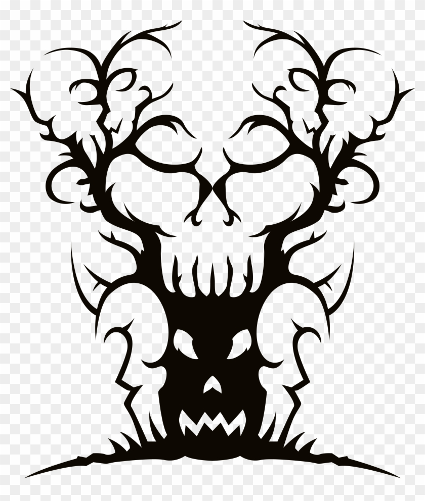 Branch Clipart Creepy - Branch Clipart Creepy #102