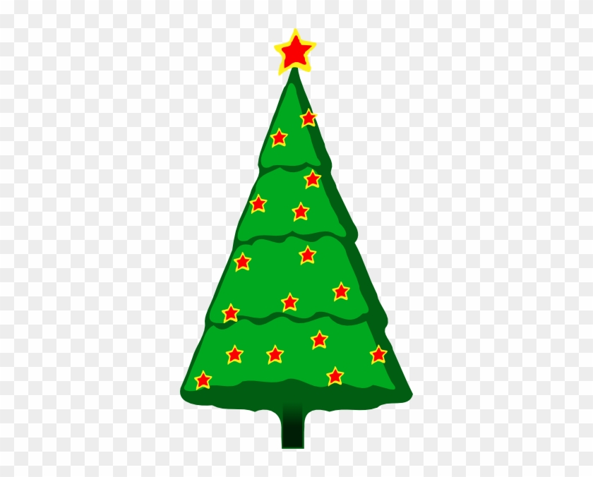 Free Vector Christmas Tree Clip Art - Christmas Tree Clip Art #991