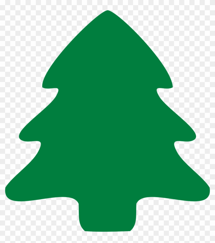 Fir Tree Christmas Evergreen Plant Forest Ecology - Christmas Tree Clipart Hd #1000
