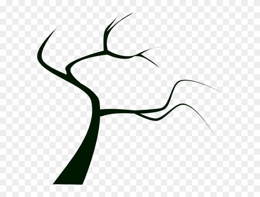 Tree Silhouette Clip Art #105