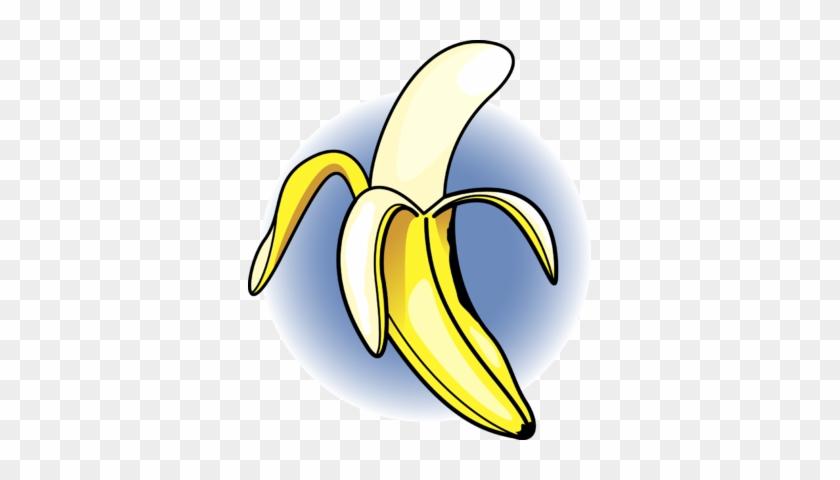 Banana - Clip Art Of A Banana #1014