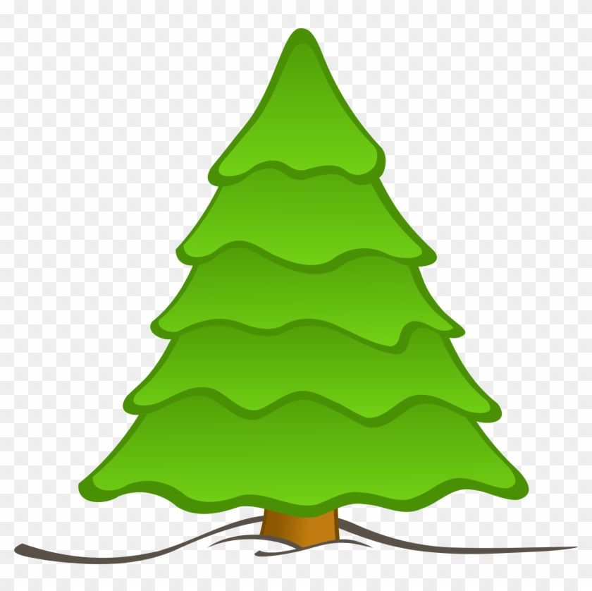 I - Plain Christmas Tree #1034