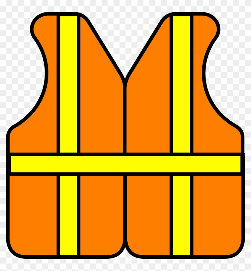 Free Safety Clipart Safety Construction Vest Free Vector - Hard Hat Clip Art #1041