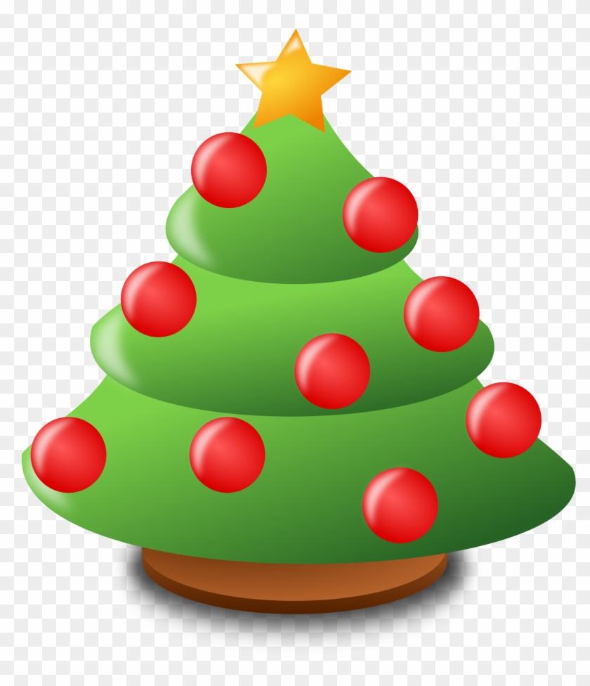 Xmas Tree Clipart #112