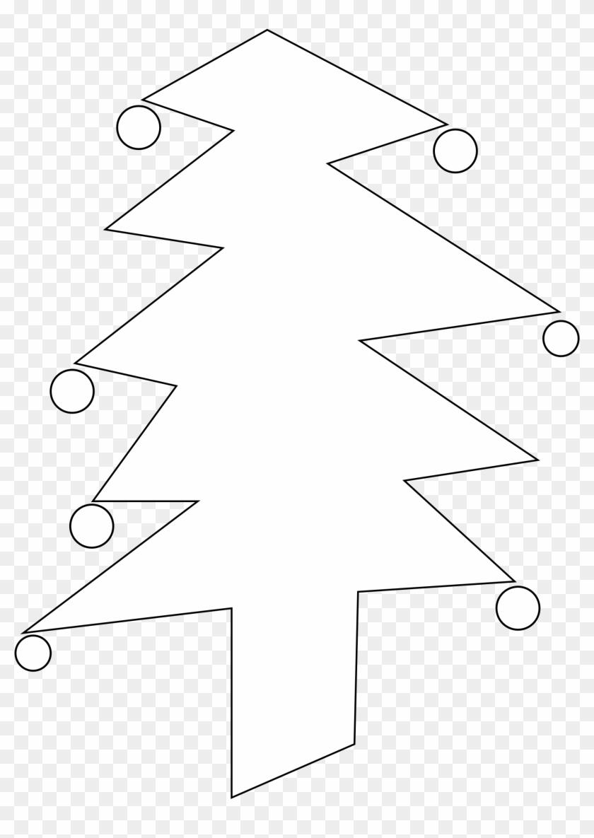 Christmas Tree Black And White Christmas Tree Clip - Christmas Tree Black And White Christmas Tree Clip #117