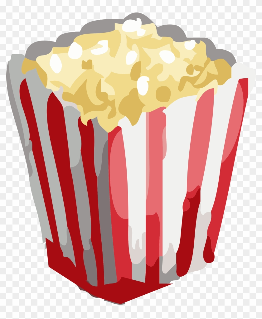 Big Image - Popcorn With Transparent Background #1132