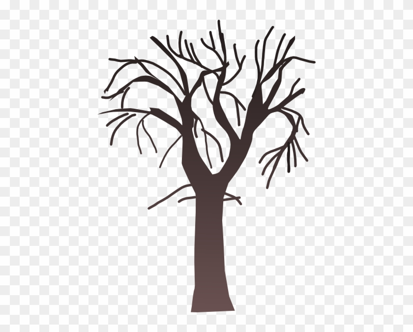 Bare Tree Clipart #12
