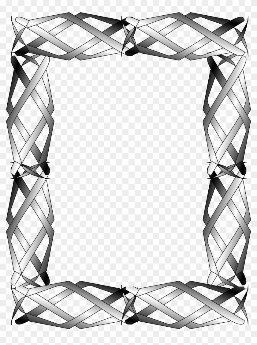 Abstract Clipart Border - Frame #1137