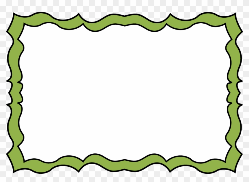 Green Border Clipart - Forest Borders And Frames #1145
