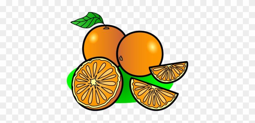 Image Oranges Food Clip Art - Oranges Clipart #1182
