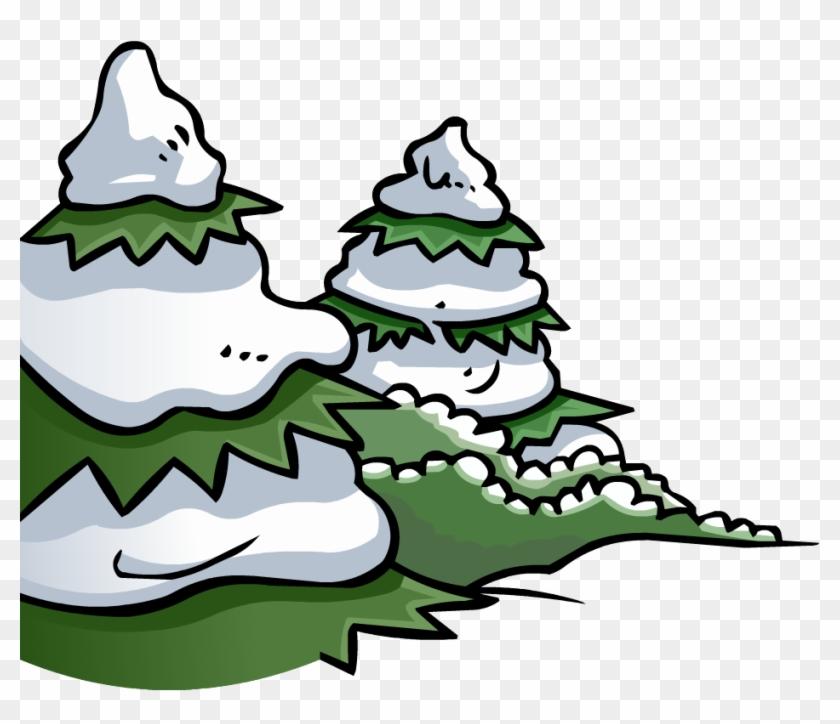 Pine Tree Cove - Club Penguin Christmas Tree #1187