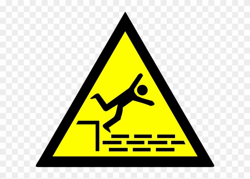 Danger Fall Clip Art At Clker - Pericolo Radiazioni Non Ionizzanti #1204