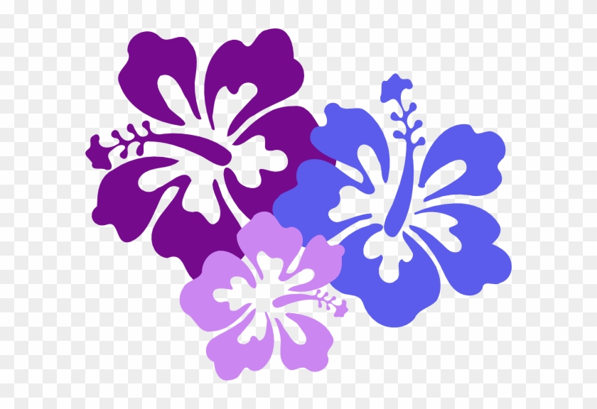 Hawaiian Flower Clip Art Borders Free Clipart Images - Hawaiian Flower Png #1212