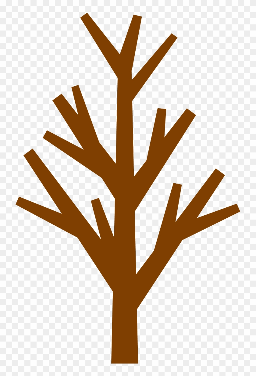 Brown Tree Without Leaves Clipart - Tree Clip Art No Leaves #1225