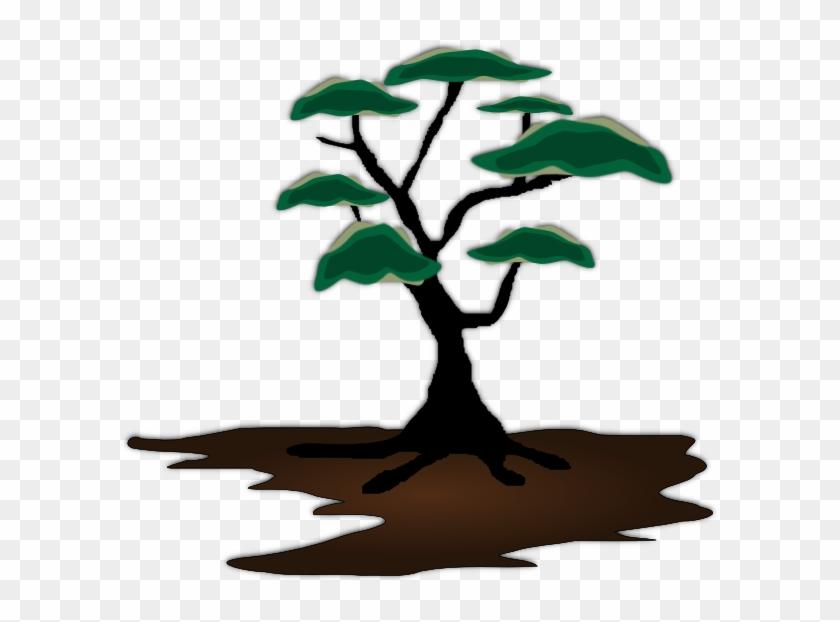 Tree Clip Art At Clker - African Trees Clip Art #1255