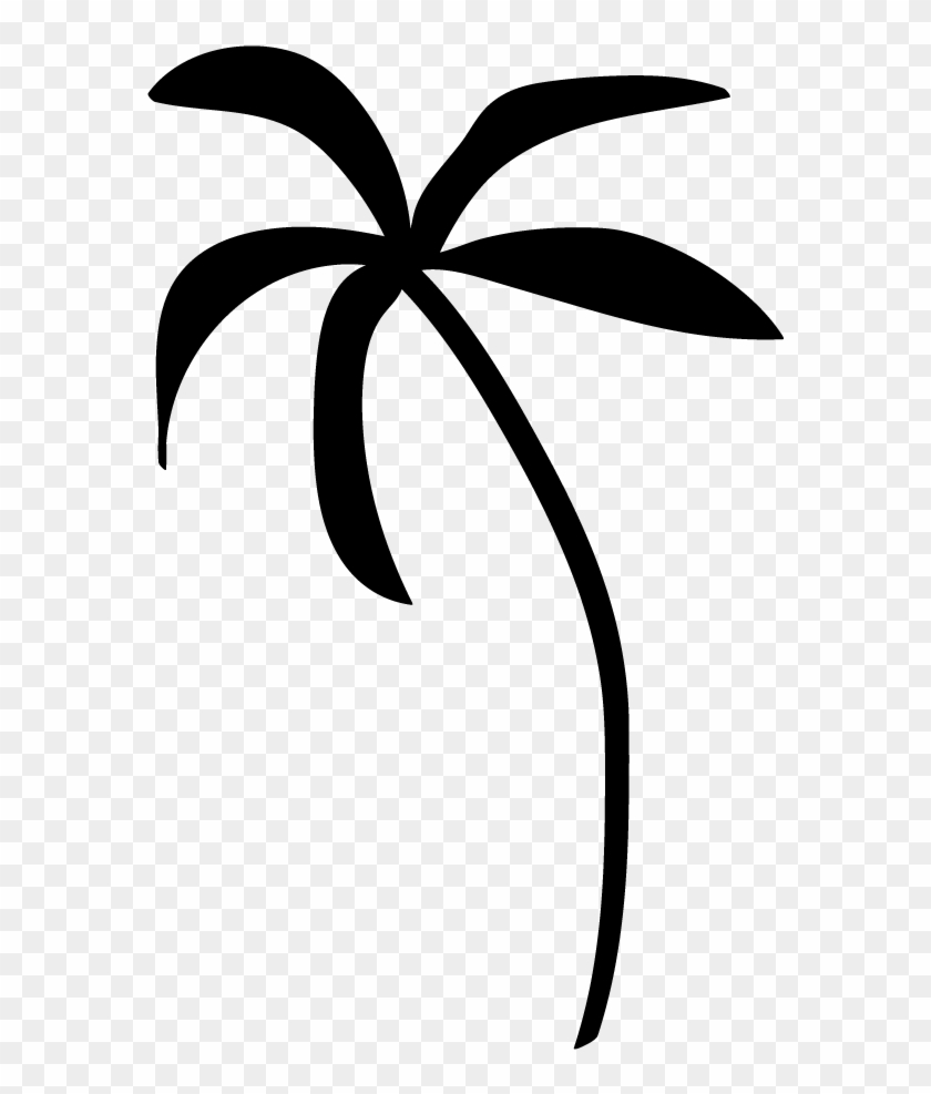 Palm Tree Clip Art Transparent Background Clipart Panda - Black Palm Tree Emoji #1278