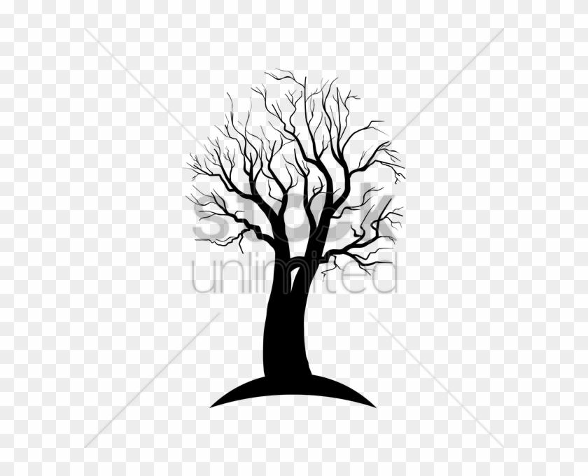 Dead Tree Silhouette Vector Image 1903006 Stockunlimited - Vector Graphics #1288