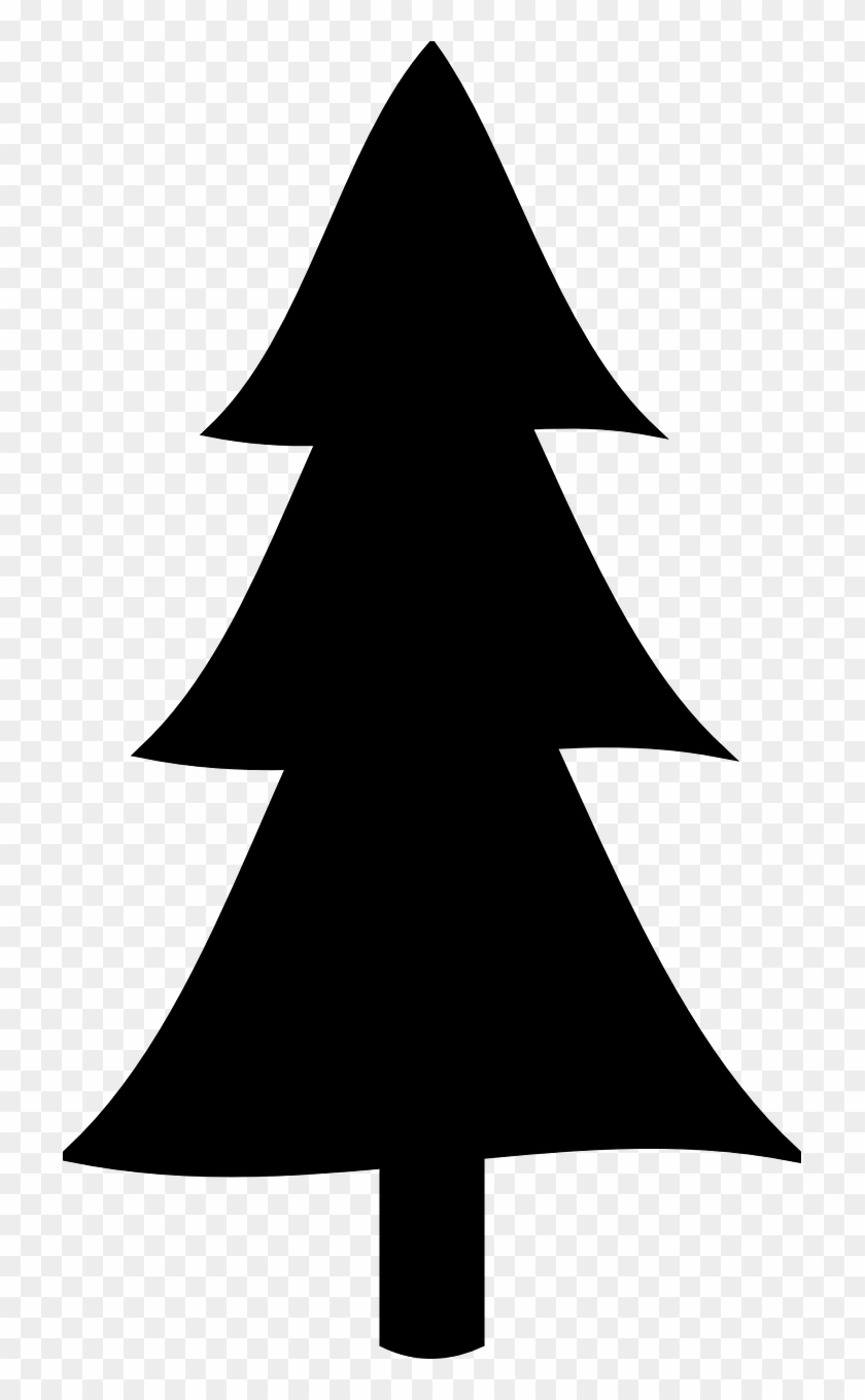 Pine Tree Clipart Silhouette #1325