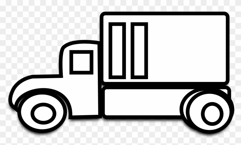 Christmas - Free Clipart Delivery Truck #1354
