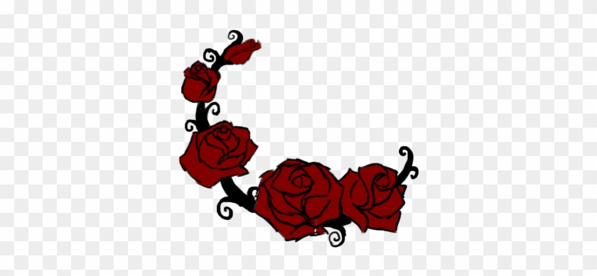 Rose Vine Clipart Rose Vine Drawing Clipart Library - Vine With Roses Drawing #1366