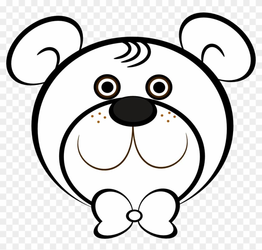 Black Bear Clipart Bear Face - Black Bear Clipart Bear Face #1428