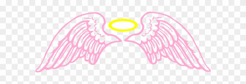 Pink Angel Wings With Halo Clip Art At Clipart Library - Pink Angel Wings With Halo Clip Art At Clipart Library #1438