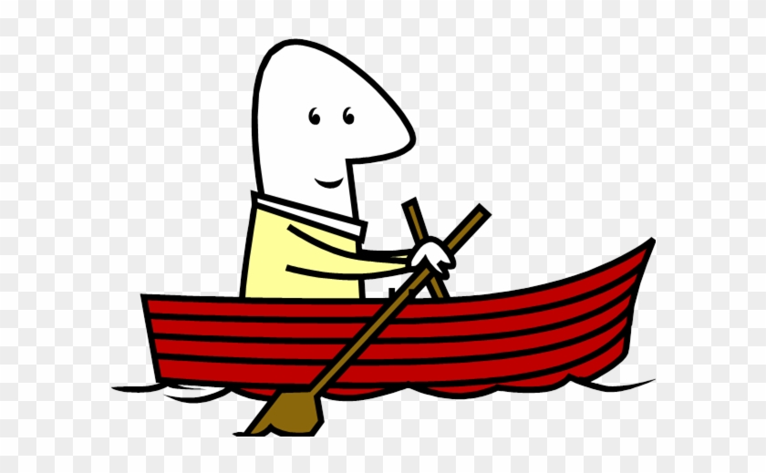 Rowing Boat Clipart - Rowing Boat Clipart #1461