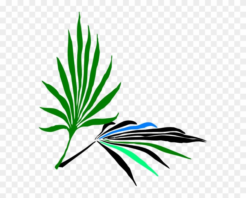 Palm Leaves Clip Art - Palm Leaves Clip Art #151