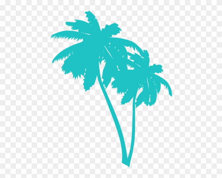 Palm Trees Clip Art - Palm Trees Clip Art #1472
