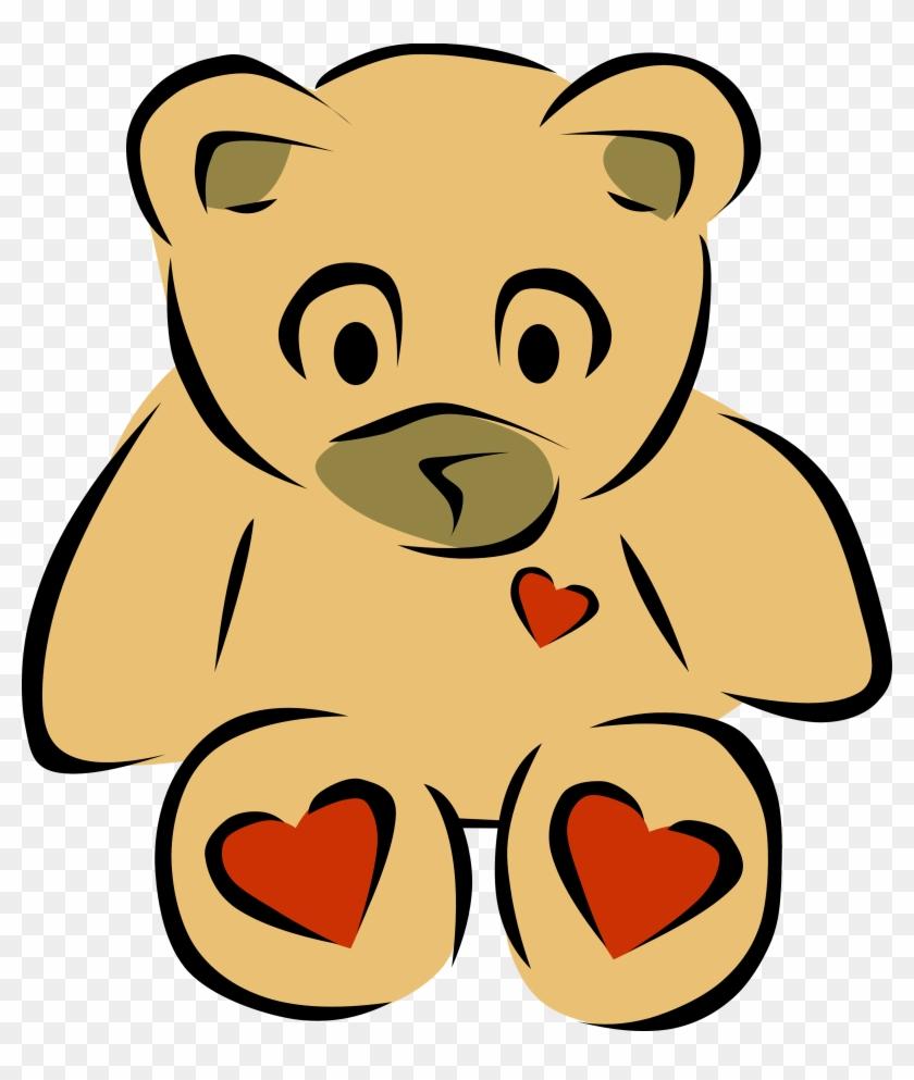 Teddy Bear Clip Art On Teddy Bears And 2 4 - Teddy Bear Clip Art On Teddy Bears And 2 4 #1484