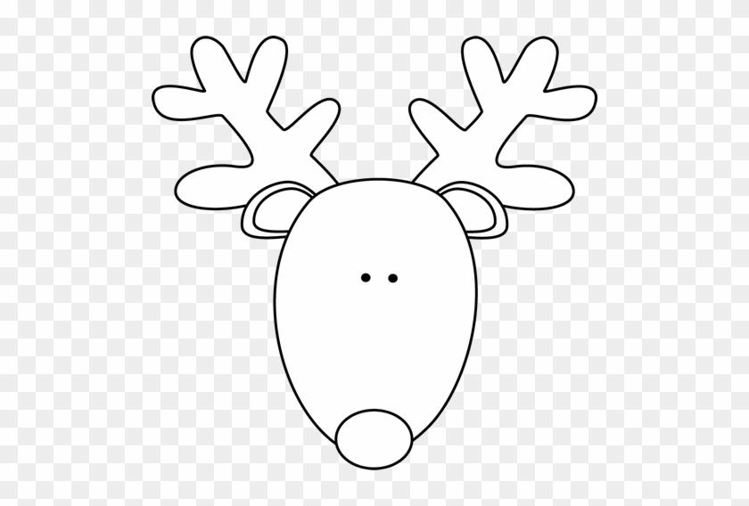 Reindeer Clipart Reindeer Head - Reindeer Clipart Reindeer Head #1479