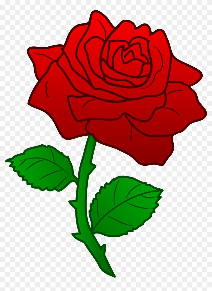 Clipart Rose - Clipart Rose #1491