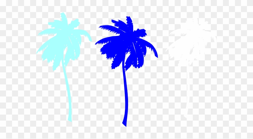 Vector Palm Trees Svg Clip Arts 600 X 381 Px - Vector Palm Trees Svg Clip Arts 600 X 381 Px #1564