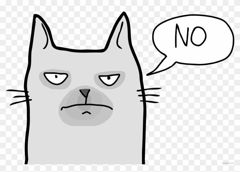 Christmas Clipart Grumpy Cat, Clip Art Grumpy Cat, - Clip Art Grumpy Cat #1570