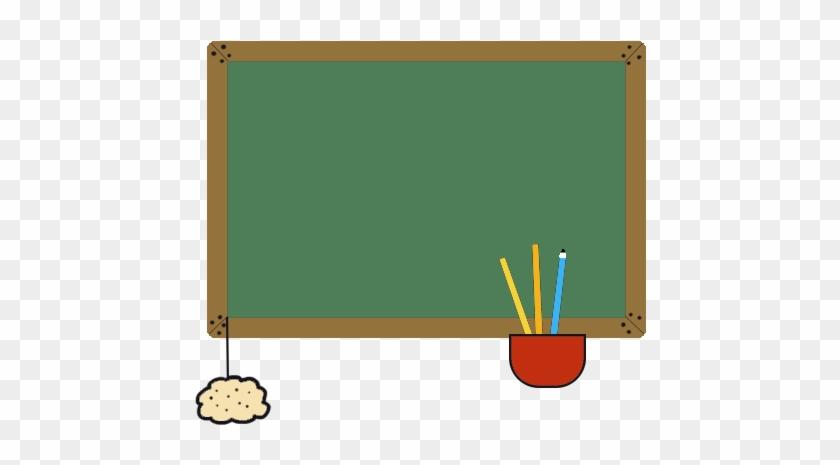 Blackboard Clip Art, School Blackboard In Color - Blackboard Clip Art, School Blackboard In Color #1569