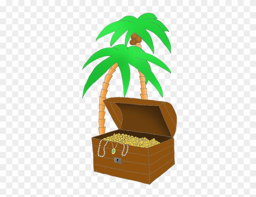 Treasure Chest For Pirates - Treasure Chest For Pirates #1577