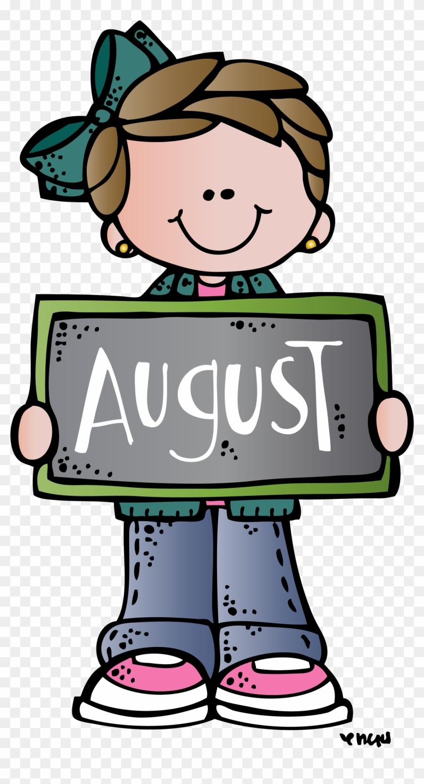 August Mel - Melonheadz Clipart August #1627